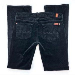 7 For All Mankind Velvet Pants